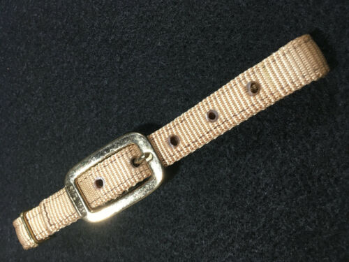 "1 pair Tan Nylon 3//4/"" E488 Economy Breast Collar Tuggs"