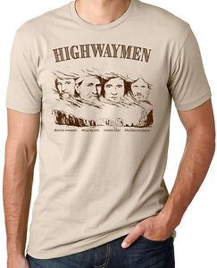Waylon Jennings Hank Williams Jr Johnny Cash Merle Haggard Shirt Willie Nelson