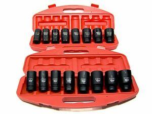 18PC-3-4-034-DRIVE-DEEP-AIR-IMPACT-SOCKETS-AXLE-NUTS-REMOVER-INSTALLER-SAE-AND-MM