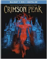 Crimson Peak (Blu-ray/DVD, 2016, 2-Disc Set, Includes Digital Copy UltraViolet)