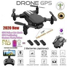Drone Foldable Quadcopter WIFI FPV 480P 1080P 4K Wide-Angle Camera HD New O1N7