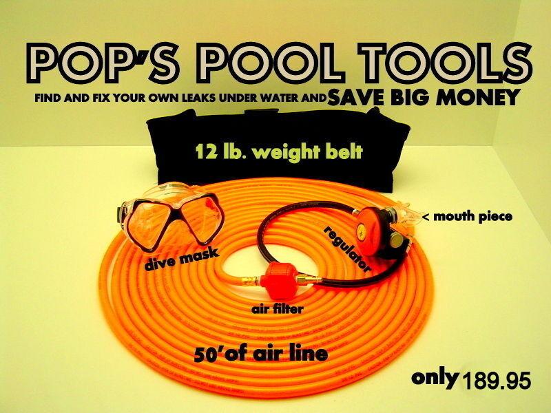 Swimming pool leak detector-  pool leak- leak detector- leak finder-pool leak