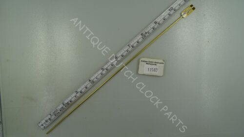 PENDULUM ROD 20 CM W// FLAT PART ONLY FOR SUITABLE RIDER ZAANDAM OR ZAANSE CLOCK