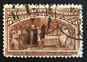 Briefmarke-Vereinigte-Staaten-States-Yvert-Und-Tellier-N-85-Gestempelt