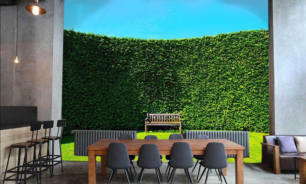3D Grünes Blatt Wand Gras 6 Tapete Tapeten Mauer Foto Familie Tapete Wandgemälde