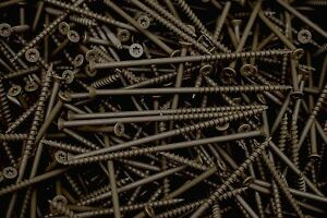 100-Torx-T25-Star-Flat-Head-10-x-5-Deck-Screw-ACQ-Lumber-Wood-Type-17