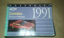 1991 CHEVROLET LUMINA OWNERS MANUAL