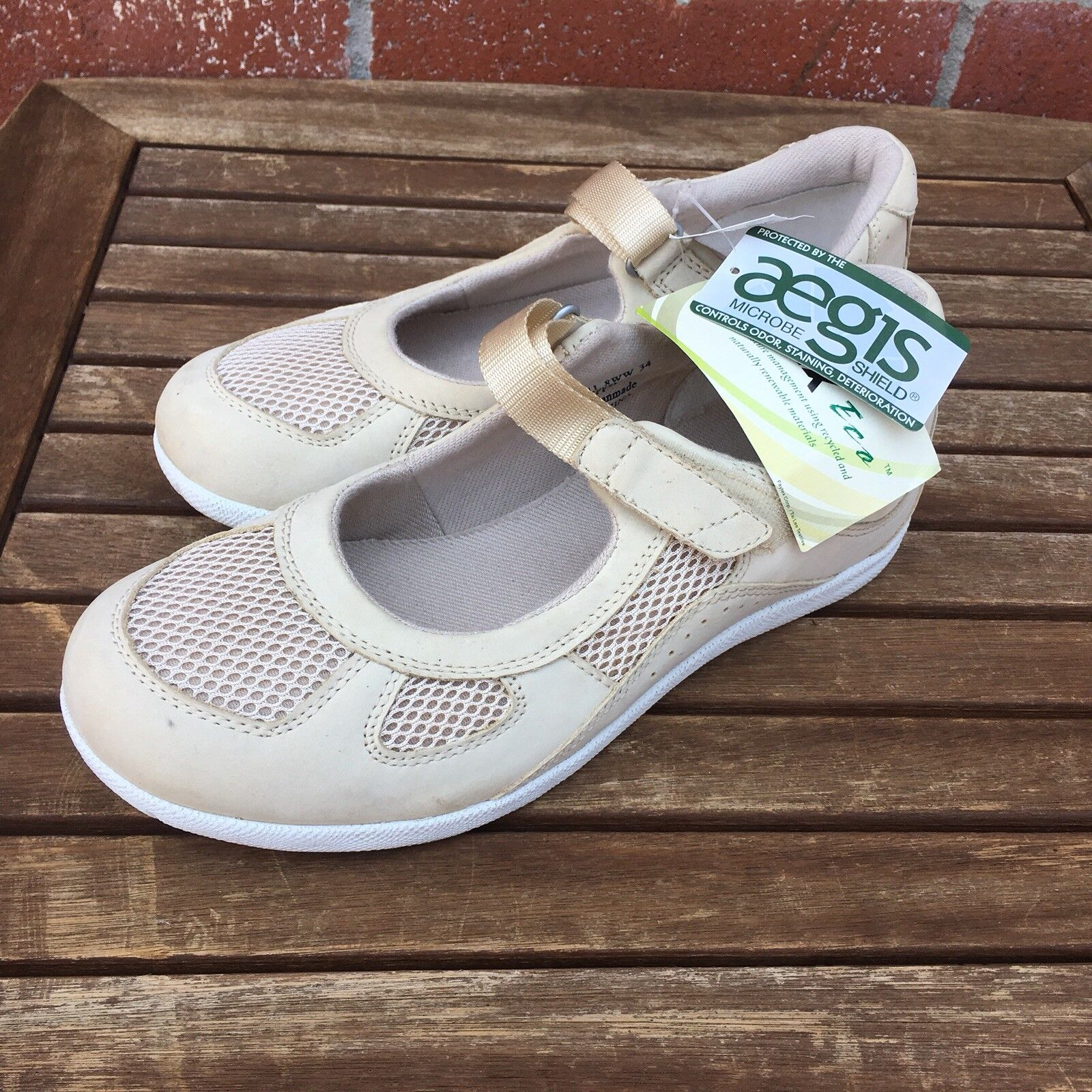 Barefoot Freedom Drew Bone femmes Sz 8WW XW Delite Mary Jane chaussures Dri-Lex Bamboo