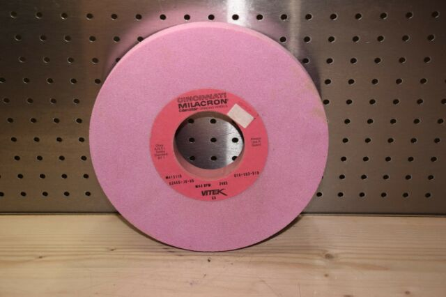 "Cincinnati Milacron 97A1001-J6-VFM  4 1//2/""x1//8/""x1 1//4/"" Surface Grinding Wheel"