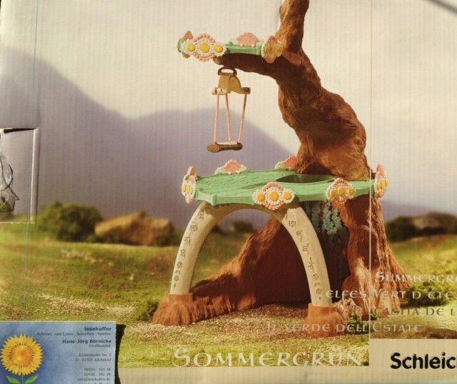 Schleich Elfen Elfenhaus Sommergreen Fantasy 42032 Elf house summergreen NEU OVP