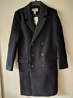 Footballer David Beckham Woolen Black Trench Coat