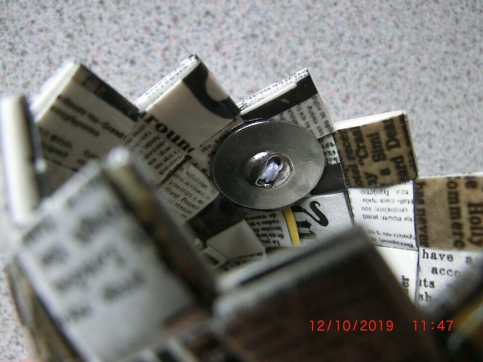 Andre samleobjekter, Lille plastflettet etui