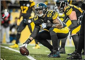 the latest a25c6 34406 Details about MAURICE POUNCEY PITTSBURGH STEELERS COLOR 8X10 COLOR-RUSH  UNIFORM VS RAVENS