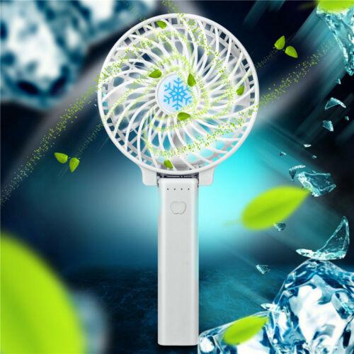 Mini Portable Rechargeable USB haute puissance 3-Vitesse de bureau handhel Fan durable