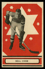 1933-34 V304A O-PEE-CHEE SERIES A~#38~BILL COOK~HALL OF FAME~NEW YORK RANGERS