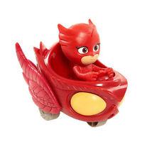Pj Masks Wheelies Mini Vehicles Owl Glider Figure Toy Doll Red Usa Seller