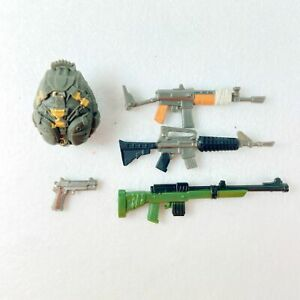 "4/"" GI Joe Fortnite Figures/' Accessories Guns Weanpons Random Pick 15pcs"