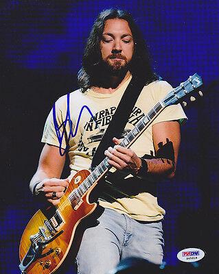 Rock & Pop Hard-Working Ben Carey Signed 8x10 Photo Guitarist Lifehouse Psa/dna Autographed Entertainment Memorabilia