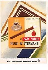 PUBLICITE   1979   HENRI WINTERMANS    CIGARES CAFE CREME