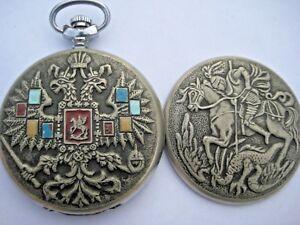 Molnija RUSSIAN USSR Pocket Watch