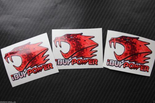 X3 ibuypower KATOWICE 2014 adesivi da csgo nella vita reale MLG Counter Strike CS