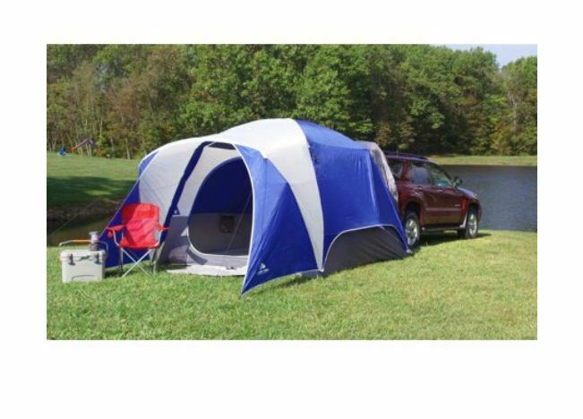 SUV Camping Tent 5 Person Outing Picnic Events Festivals Easy Set Up Comfortable