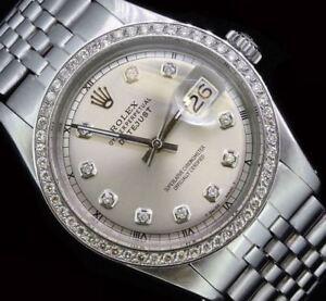Rolex-Mens-Datejust-Steel-Oyster-Diamond-Bezel-Dial-Perpetual