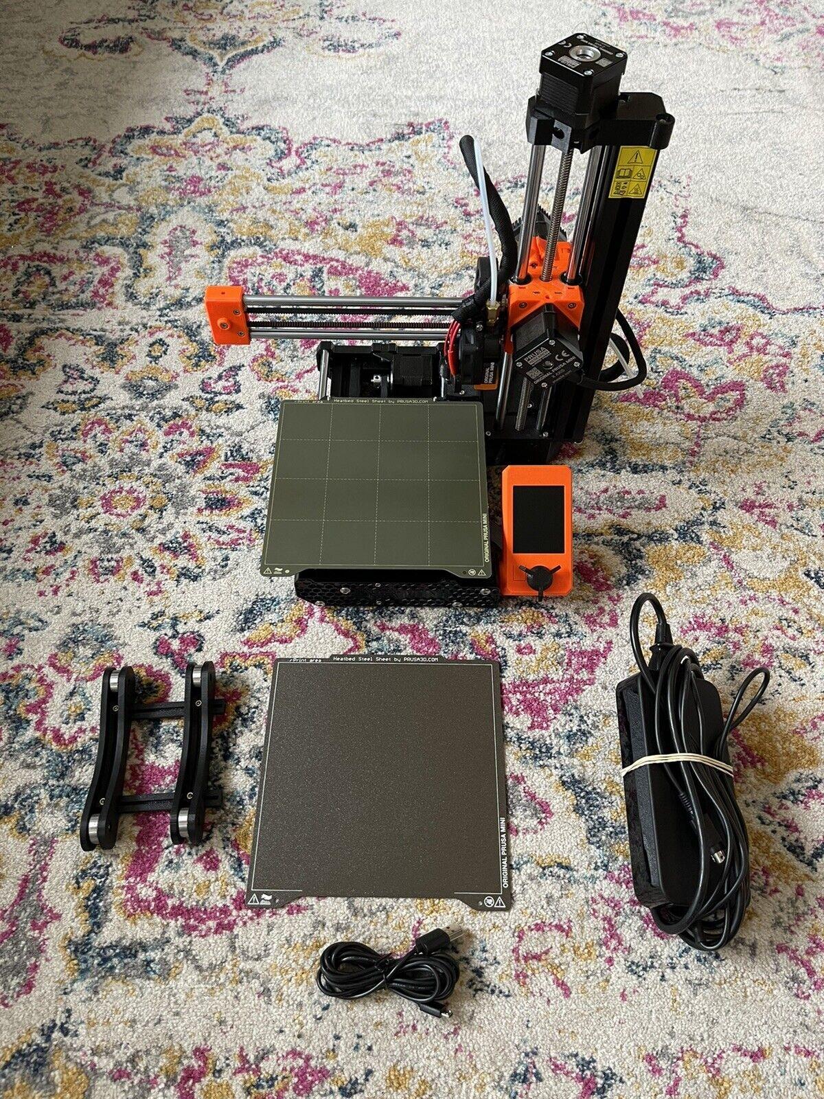 Original Prusa Mini+ 3D Printer + Textured & Smooth Double Sided PEI Sheet