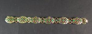 schoenes-Armband-10-Karat-amp-Emaille