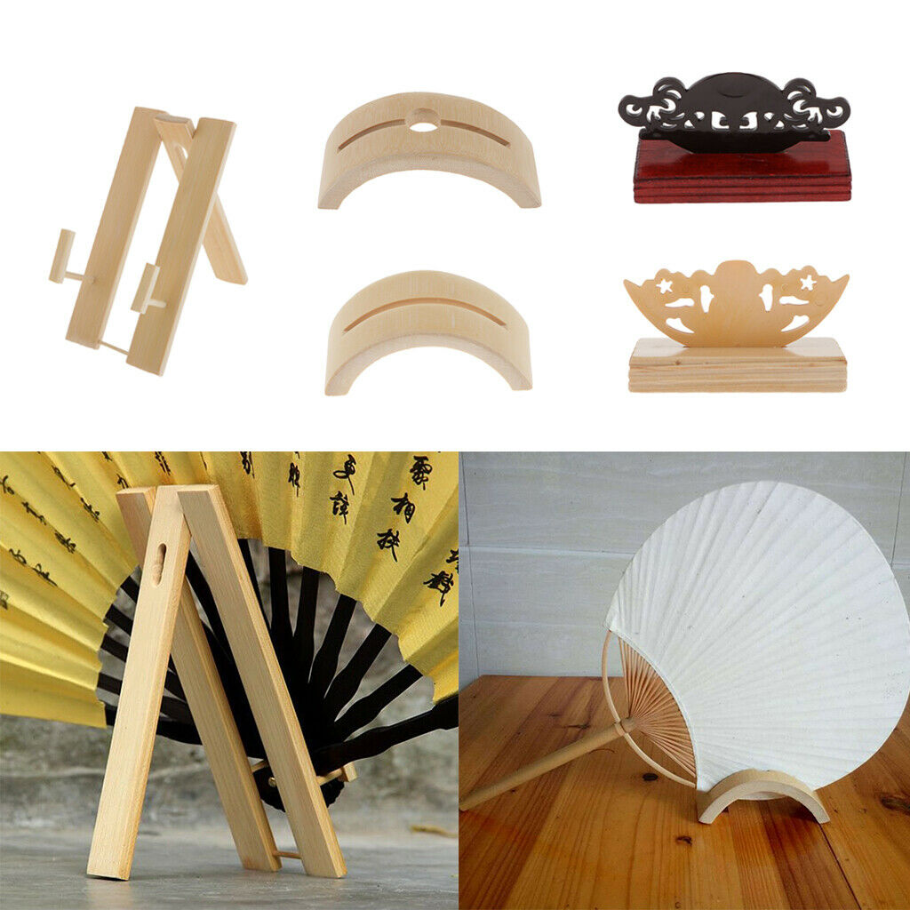 Fan stand support Support pour Pli Style Chinois Bois fan espagnol style fans