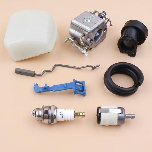 Carburetor Air Filter Intake Rod Tune up Kit For Husqvarna 350 346XP 353 340 345