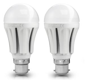 2-X-10w-bombilla-de-luz-LED-GLS-blanco-frio-Lampara-LED-B22-10w-A60