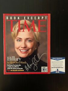 HILARY-CLINTON-SIGNED-AUTOGRAPH-TIME-MAGAZINE-BILL-HRC-WHAT-HAPPENED