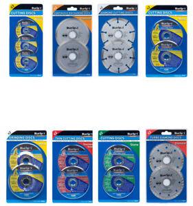 115-mm-Coupe-Disques-De-Broyage-diamant-Metal-Pierre-acier-inoxydable-disc-neuf