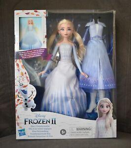 NEW Disney Frozen 2 Elsa's Transformation Elsa Doll Hasbro