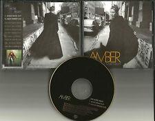 AMBER One More Night w/ RARE RADIO REMIX USA PROMO DJ CD Single 1997