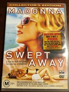 SWEPT-AWAY-Madonna-Like-New-DVD-R4-PAL