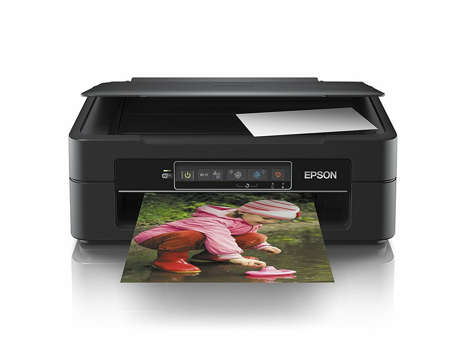 epson xp 245 wireless all in one printer with ink a4 scanner wi fi inkjet wifi ebay. Black Bedroom Furniture Sets. Home Design Ideas