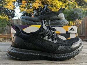 a50dfa60448c8 Image is loading adidas-Ultra-Boost-Uncaged-Haven-Triple-Black-US-