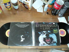STEPPENWOLF / LIVE (1972) 2 lp classic rock Born to be wild - monster magic carp