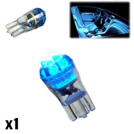 1x Citroen C3 Picasso 1.4 501 W5W Blue Interior Courtesy Bulb LED High Power XE6