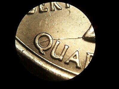 2008 PARIZONA QUARTER UNCIRCULATEDTRIPLE ERROR OBVERSE AND REVERSE