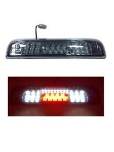 Third 3rd Brake Lights Fit 15-18 Silverado//Sierra 1500//2500//3500 LED Smoke Lens
