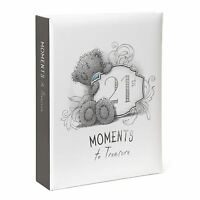 Me to You 21st Birthday Photo Album Moments To Treasure Boxed - Tatty Teddy