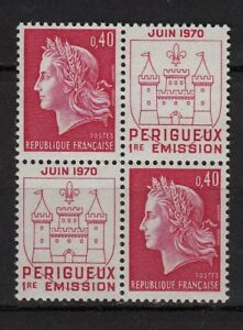 ** Marianne Cheffer N°1643 (1970) Périgueux (neuf**mnh Tbe)