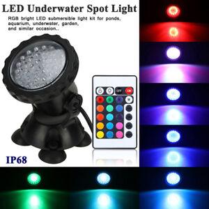 144-LEDs-Aquarium-Light-RGB-Underwater-Spot-Light-for-Garden-Pond-Swimming-Pool