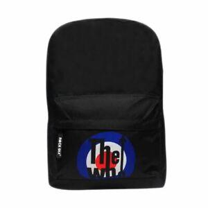 The-Who-Target-Logo-Laptop-Backpack-School-Uni-Bag