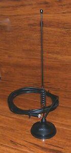 Hustle Black Magnetic Universal Antenna For Car Trunks For