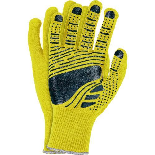 Montagehandschuhe 12 PAAR Arbeitshandschuhe Handschuhe Gelb Gr.8-11 NEU TOP