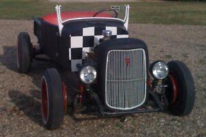 1926 MODEL T RETROROD RAT ROD ROADSTER CONVERTIBLE